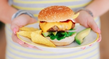 Fresh & Easy: TEX-MEX burger