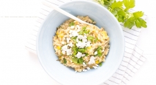 Fresh & Easy: Risotto van parelgort