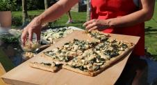 Recept Voor Plaattaart Met Spinazie En Kip Foodynl