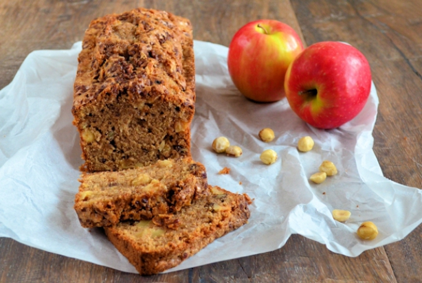 cake met noten recept