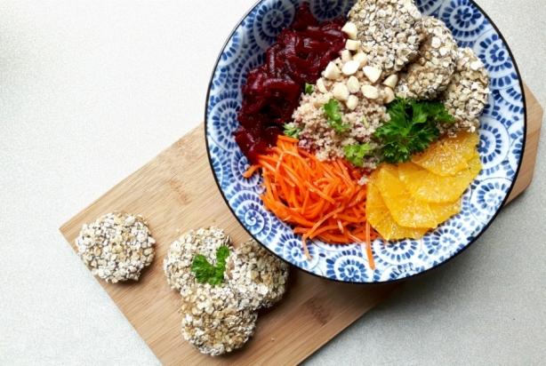 Linzen falafel bowl