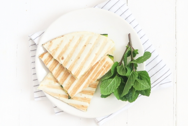 Video: Quesadilla's met courgette en ricotta