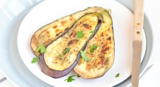 BBQ is on: Geroosterde Aubergine
