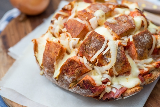 VIDEO: Pizza borrelbrood