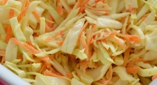 Super Healthy Sunday: Homemade Coleslaw