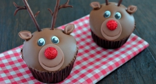 Advent 4: Rudolph het rendier cupcakes