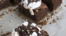 Holiday Smores Brownies van Starbucks