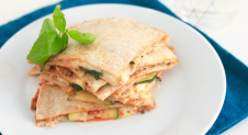 Quesadilla's met courgette