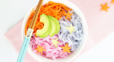 Unicorn noodles