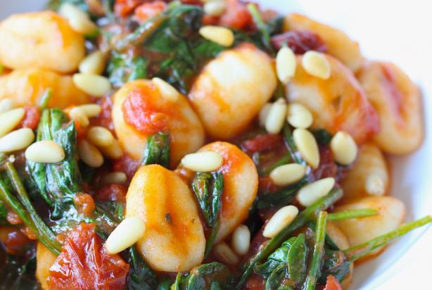 gerechten met gnocchi