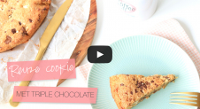 VIDEO: Reuze triple chocolate chip cookie