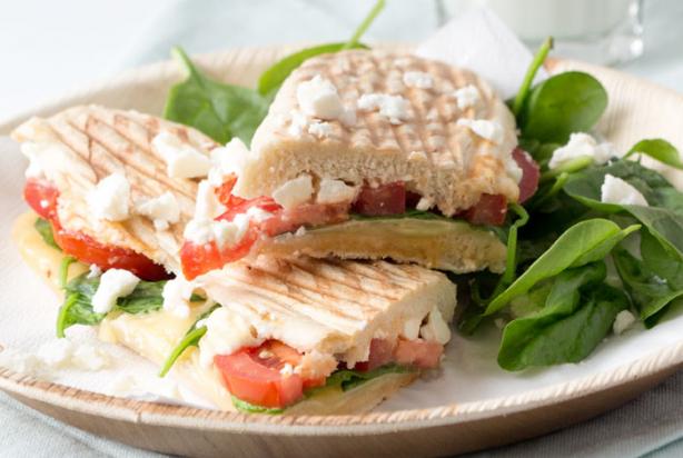 recept voor griekse panini - foody.nl