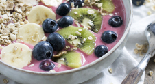 Smoothiebowl van rood fruit