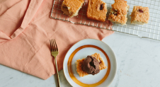 Vegan blondies met pecannoten