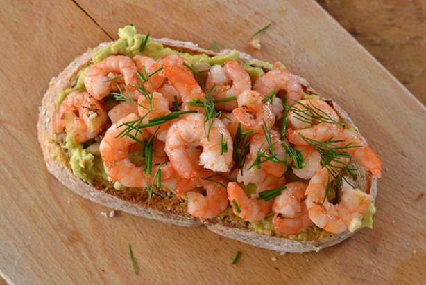 Recept Voor Crostini Met Avocado En Garnalen Foodynl