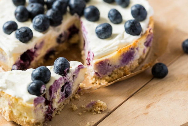 taart blauwe bessen