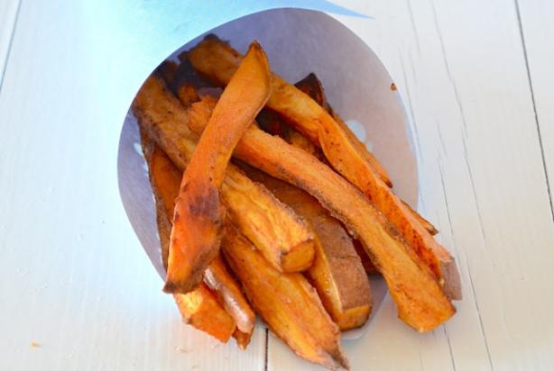 zoete aardappel friet oven recept