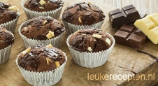 Triple chocolade muffins