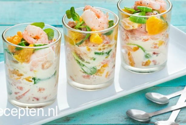 recept voor frisse garnalencocktail - foody.nl