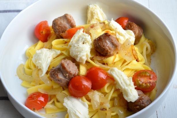 pasta maaltijd