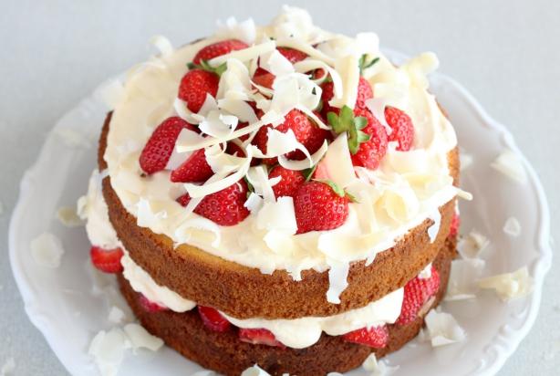 recept aardbeien slagroomtaart