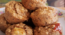 Recept: Peanutbutter & Jelly breakfastmuffins