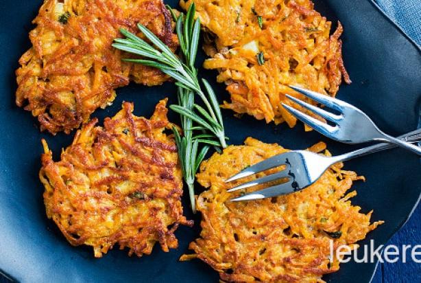 recept voor rösti van zoete aardappelen - foody.nl