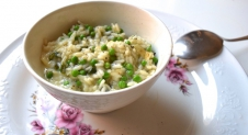 5 or less: Risotto met camembert