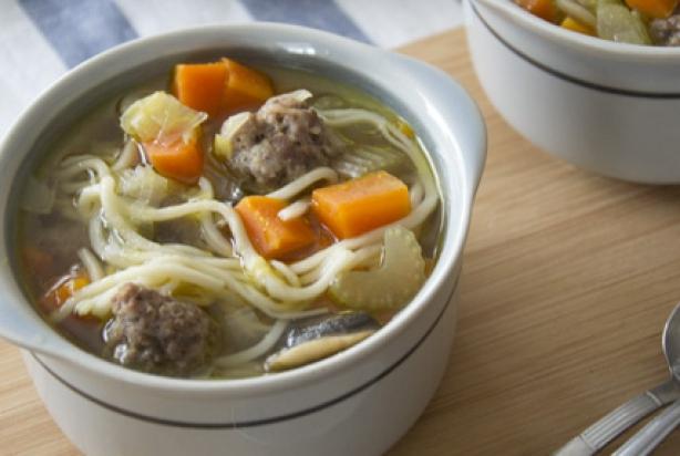 goed gevulde soep