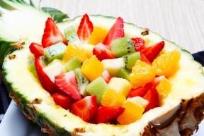 hoofdgerechten met fruit