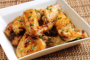 gerecht met kippenvleugels