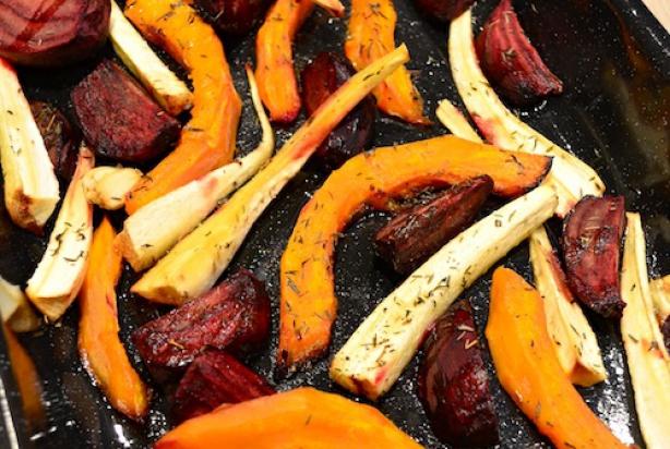 recept geroosterde groenten uit de oven