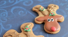 Advent 20: Rudolph the rednosed cookie!