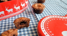 Advent 18: Mini brownie rolo bites (recept)