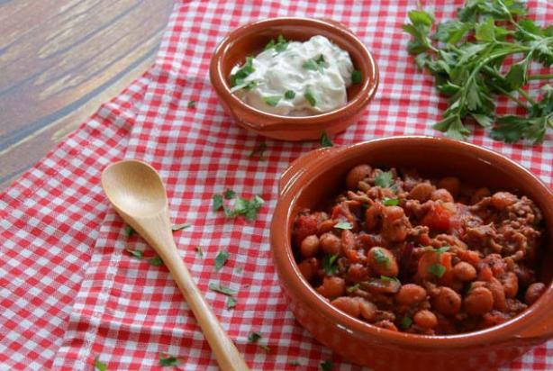 witte bonen italiaans tomatensaus