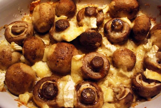 champignons bakken in de oven