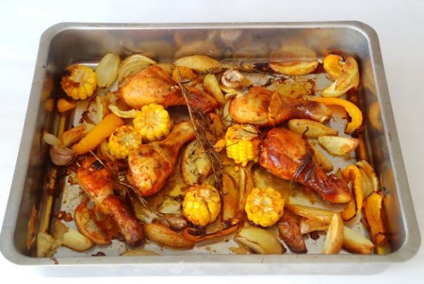 recept voor gegrilde kip uit de oven - foody.nl