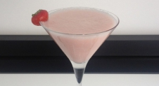 Strawberry Yoghurt Martini