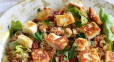 Super Healthy Sunday: Bulgursalade met Halloumi