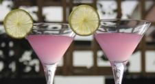Pink Martini – signature cocktail