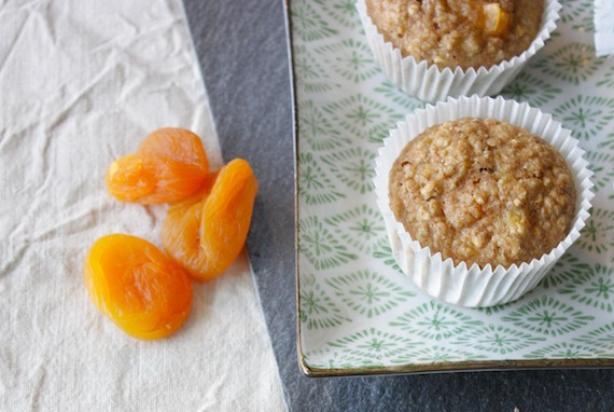 recept voor havermout muffins met abrikozen - foody.nl