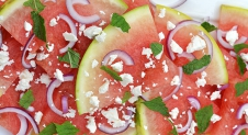 Super Healthy Sunday: Watermeloensalade met feta