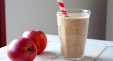 Vegan appel-kaneel smoothie