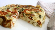 5 or less: Caprese frittata
