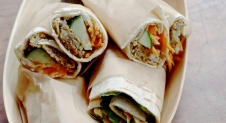 Picknick wraps: Wraps met curry kikkererwten