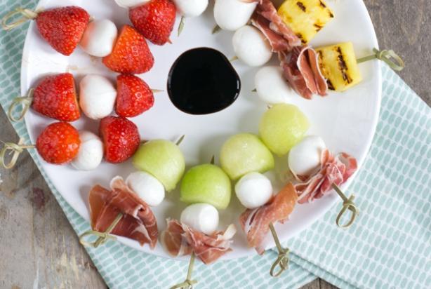 Vaak Recept voor spiesje van meloen met mozzarella en serranoham - Foody.nl #TC07