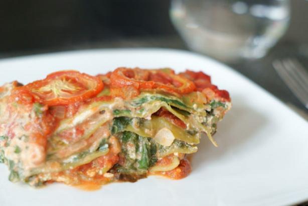 vega lasagne met spinazie