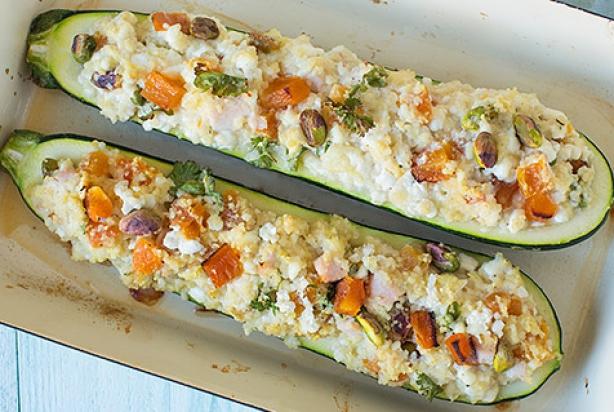 Bedwelming Recept voor video: gevulde courgette met kip en hüttenkäse - Foody.nl #LE48