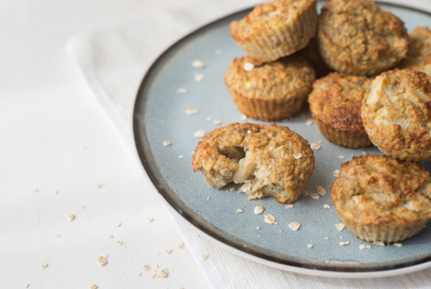 Video: Havermoutmuffins met nectarine