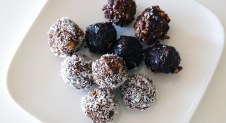 Healthy brownie ballen